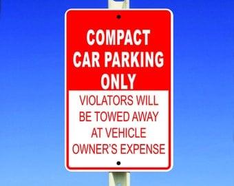 Car Parking Aluminum Sign