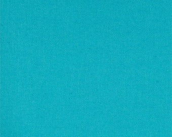 END OF BOLT  - Canvas - 1 Yard - 7 oz. Duck Teal - 100 % cotton - Canvas - Sewing, Fabrics