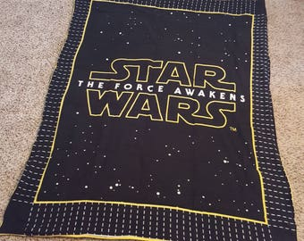 READY TO SHIP 7lb Star Wars weighted blanket.