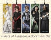 Riders of Alagaësia Bookmark Set - Inheritance Cycle Bookmarks