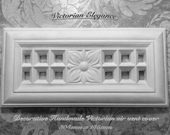 Decorative Handmade Victorian Plaster Air Vent Cover
