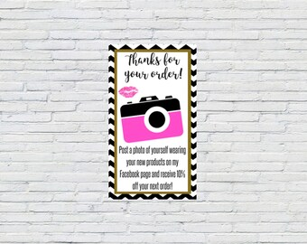 Thanks for your Order    Discount Card    Customer Appreciation     Printable    Download