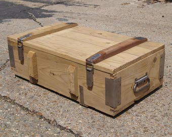Custom Built Portable Ammo Crate Speaker