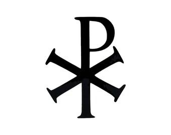 Chi Rho Symbol - Vinyl Decal
