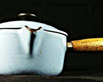 La Crescent #14 made in France Vintage Saucepan