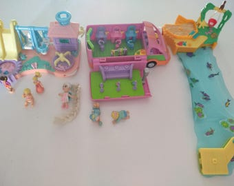 Polly Pocket 4 Package or lot