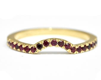 ruby wedding ring etsy - Ruby Wedding Rings