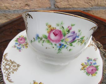 Tea cups or 6 set/Szechoslovakia RKG/serving Dish/CA 1950