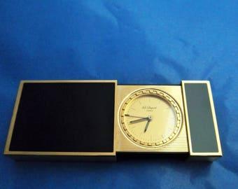 Dupont Travel Alarm Clock Rare S.T. Dupont Travel Clock