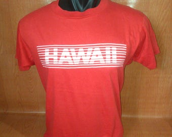 Vintage Hawaii Tshirts Hawaii Tshirts Made in USA