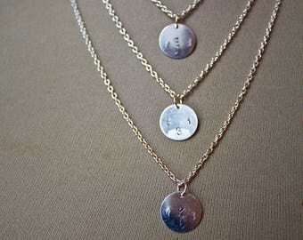 8-3-1 Initial Necklaces