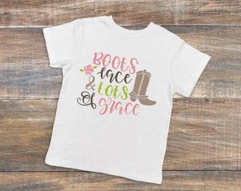 Boots, Lace & Lots of Grace