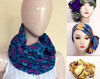 Head Wrap, Ankara Head Wrap, African Print Head Wrap, Kente Head Wrap, Ankara Scarf, Ankara Headwrap, Scarf. Free Shipping!