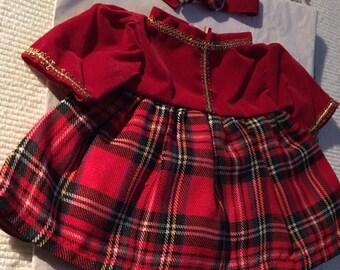 Teddybears Christmas Dress