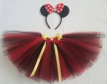 Minnie Mouse Inspired Tutu and Ears
