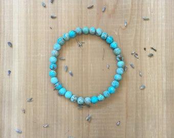 Mala Bead Bracelet | AAA Grade | Impression Jasper | Sea Sediment Jasper | Yoga Bracelet | Mala Beads