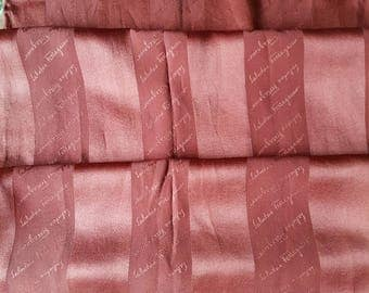 salvatore ferragamo long silk scarf defect!!!