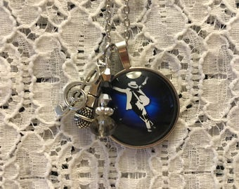 Smooth Criminal Charm Necklace/Michael Jackson Charm Necklace/Michael Jackson/Michael Jackson Jewelry/King of Pop Jewelry
