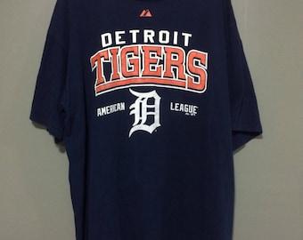 Detroit tigers majestic tshirt size xxl