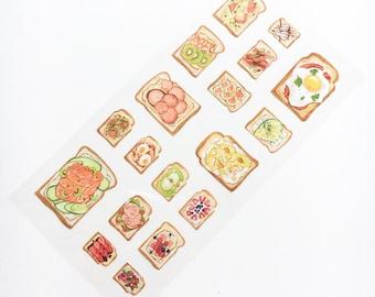 Healthy Toast Sticker Sheet