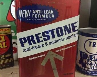 Prestone Anti-Freeze 1 Gallon Can - Gas & Oil