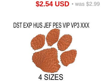 TODAY SALE 15% Clemson Tigers embroidery design logo / embroidery designs / INSTANT download machine embroidery pattern