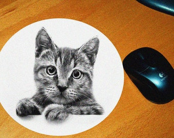 Cat model 12 mouse pad