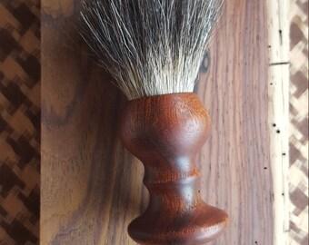 Bloodwood Badger Shaving Brush