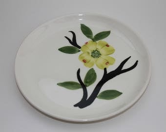Dixie Dogwood Blue Ridge Pottery Small Plate
