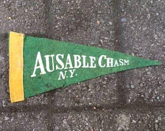 Vintage Souvenir Penant - Ausable Chasm, New York