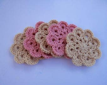 Crocheted Coaster Set