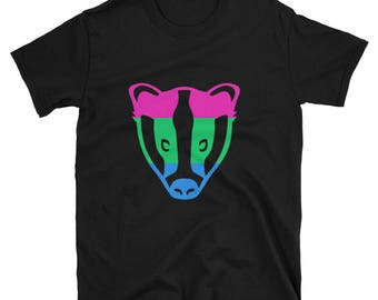 Polysexual Unisex T-Shirt lgbt lgbtqipa lgbtq mogai pride flag gay