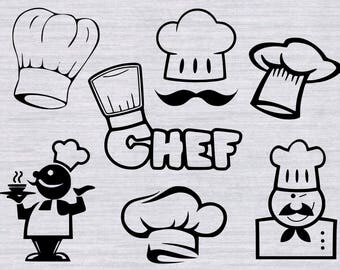Chef SVG Vinyl cutting template, Chef svg, kitchen svg,Chef hat svg, kitchen quotes svg, svg files, grilling svg, svg files for cricut