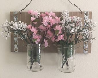 Mason Jar Wall Hanging