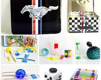 Mustang Travel Sensory & Fidget Toys Set