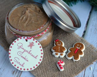 Gingerbread Cookie Scrub your skin will be left feeling soft and smooth