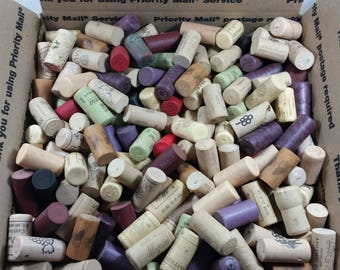 500+ Used Plastic Wine Corks ALL Synthetics From Various Red & White Wines Priority Ship