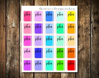 Multicolor Planner Stickers // Functional Stickers for Any Planner