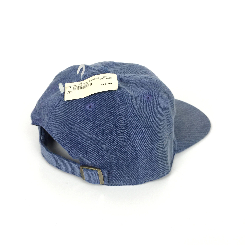 de0a3ace958 ... sweden rare deadstock vintage 90s nfl ne new england patriots denim  american needle football strapback hat ...