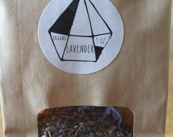 Lavender - Organic - for Spellcraft or Herbal Sachets, Balms, Salves, Incense