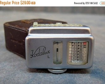 Kodalux L accessory selenium exposure light meter for Kodak Retina Made in Germany