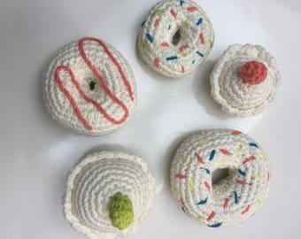 Mini Cupcakes and Doughnuts (set of 5)