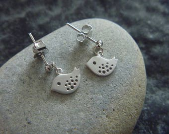 Silver bird Earrings: spring is here!