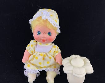 1984 Kenner Toys, Vintage Strawberry Shortcake, Berry Baby Lemon Meringue