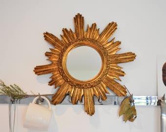 Miroir soleil années 60