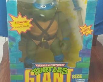 1989 Teenage Mutant Ninja Turtle 13inch Leonardo