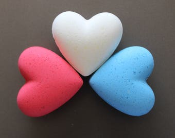 4th of July Bath Bombs - Set of 3 - FREE SHIPPING