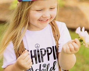 Hippie Child Shirt/Bodysuit, Hippie Child, Hippie Baby, Hippie Shower Gift, Kids Festival Shirt, Festival Kids, Boho Kids Shirt, Boho Shirt