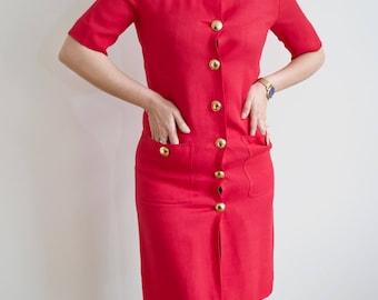 Vintage 80's Jaeger Dress