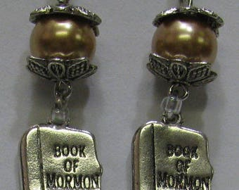 Book of Mormon Earrings E62